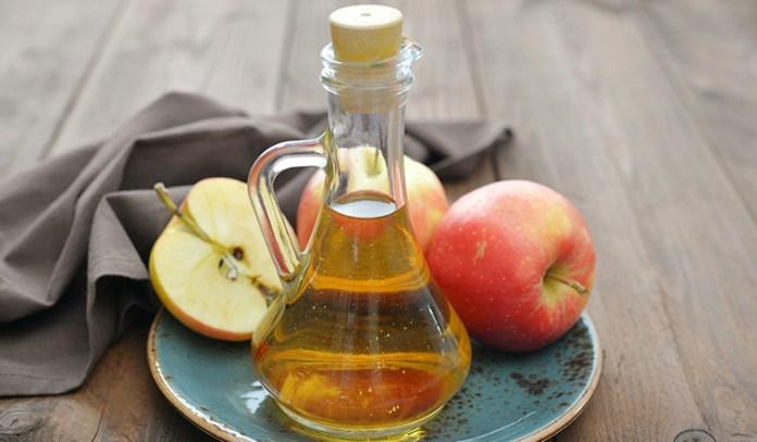 apple cider vinegar can treat boils