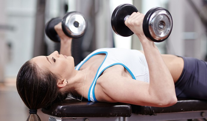 Barbell presses could cause a fracture.