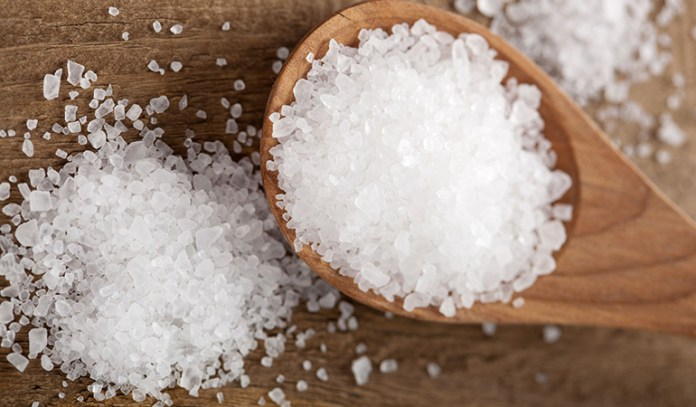Salt can help kill acne-causing bacteria