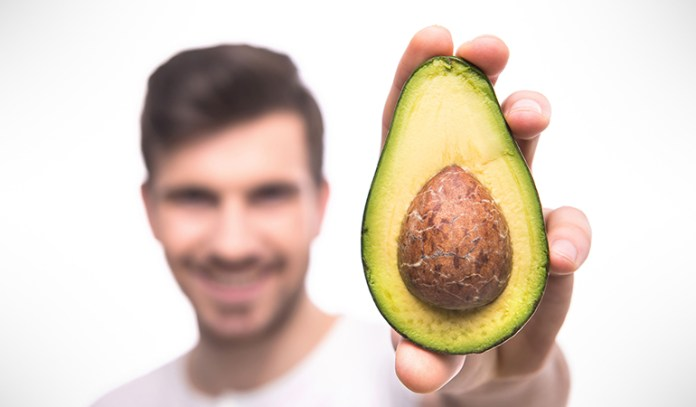 avocado and olive oil for dull, dry or frizzy hair
