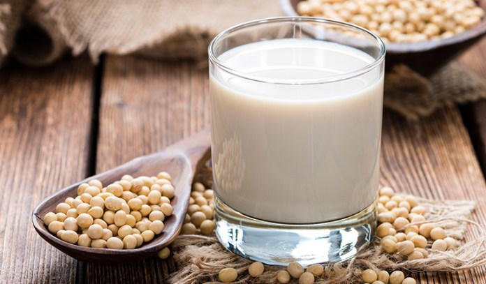 Soy protein can cause an allergic reaction