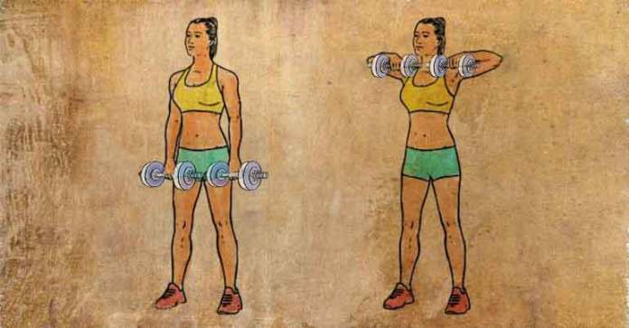 exercise to get rid of back fat