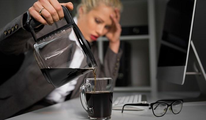 Caffeine creates hormone imbalances
