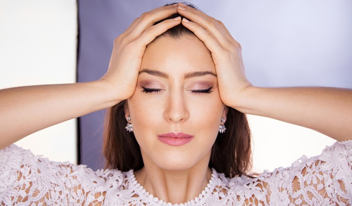 face yoga helps relax the facial muscles with massages