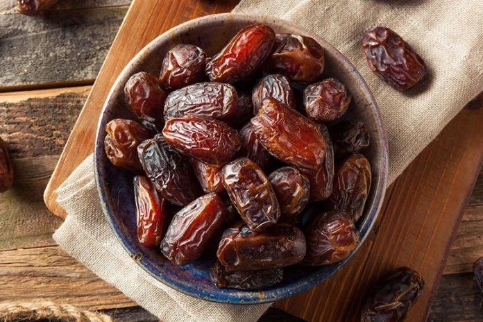 Every serving of dates comes with almost half a gram of protein and 2 full grams of fiber.