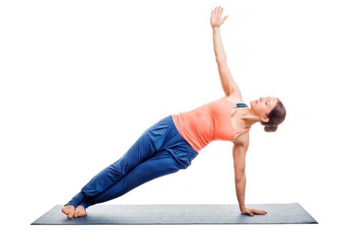 Side Plank Pose Strengthens Your Arms, Wrists, And Legs