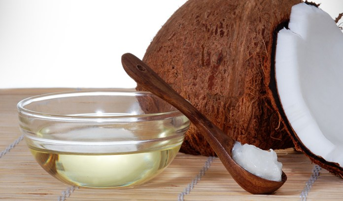 coconut oil has antimicrobial and antiseptic properties