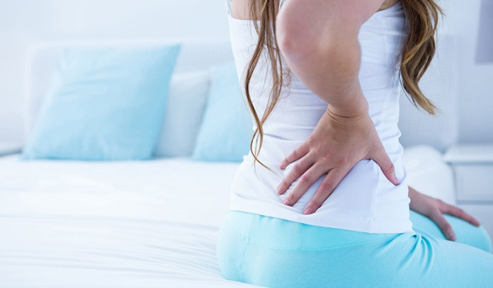 Incorrect sleeping posture can cause morning stiffness and back pain