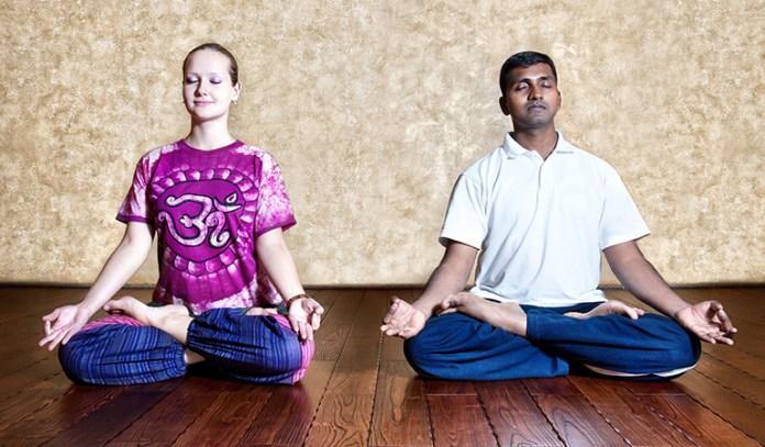 Healing through meditation and calmness