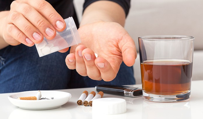 Be honest about past substance abuse