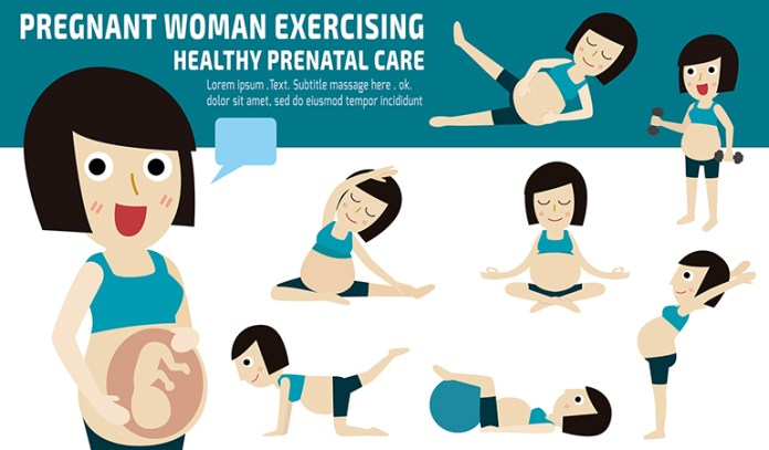 How you should exercise when pregnant