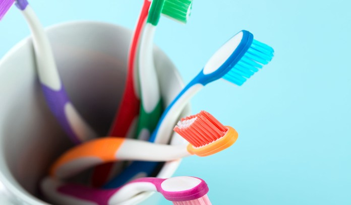 Toothbrush bristles to get rid of hickeys