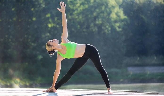 Trikonasana Can Help Ease Back Pain