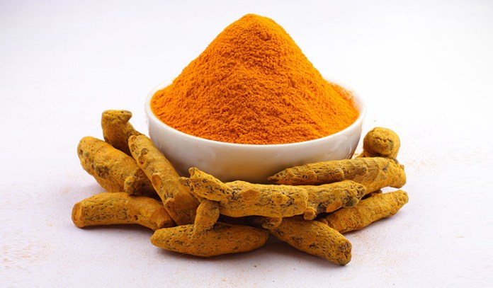 Turmeric has antiseptic properties that can help soothe skin