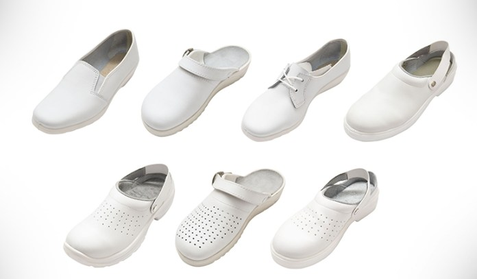 Wearing flat and comfortable shoes can be helpful