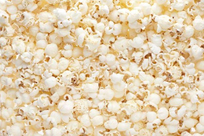 Popcorn makes a healthy snack
