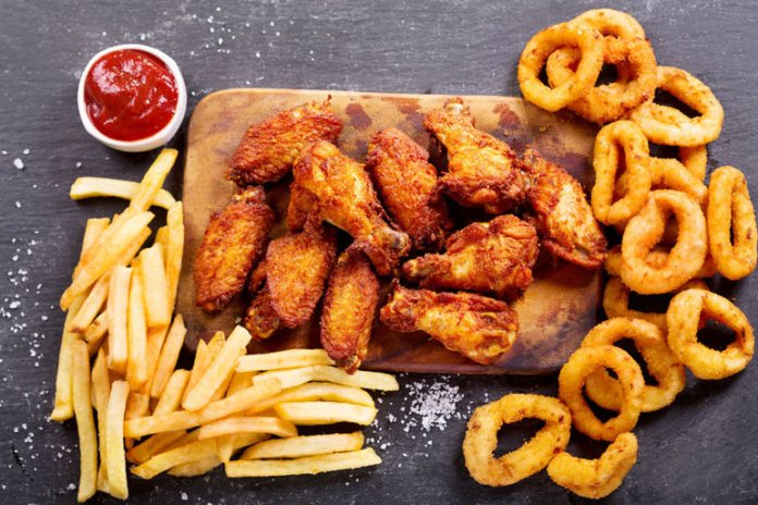 Fried foods will shoot up the cholesterol levels