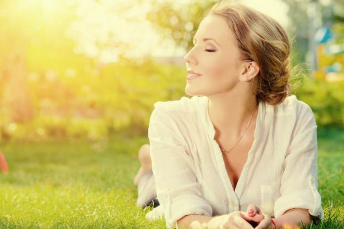 Breathing during yoga calms you