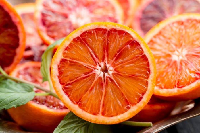 Blood oranges have lot of fiber