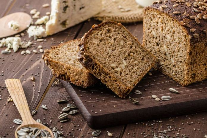 Whole wheat bread can give you more fiber