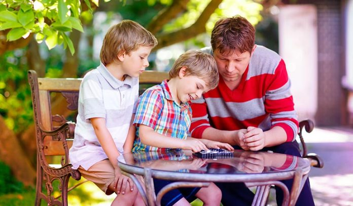 Limit screen time and provide them books, art work, board games or sports equipment