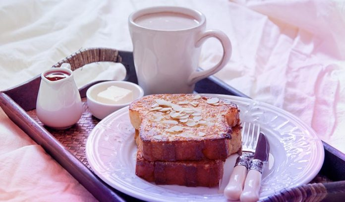 Toasted Almond French Toast is a yummy breakfast recipe that uses almond milk as one of its main ingredients