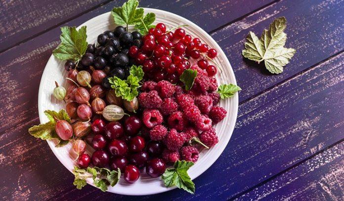 Cherries and berries have anti-inflammatory properties