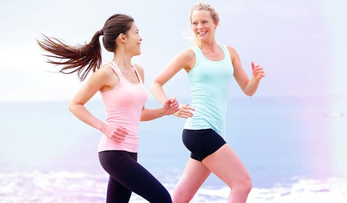 Exercise regularly to maintain good cardio-respiratory health.