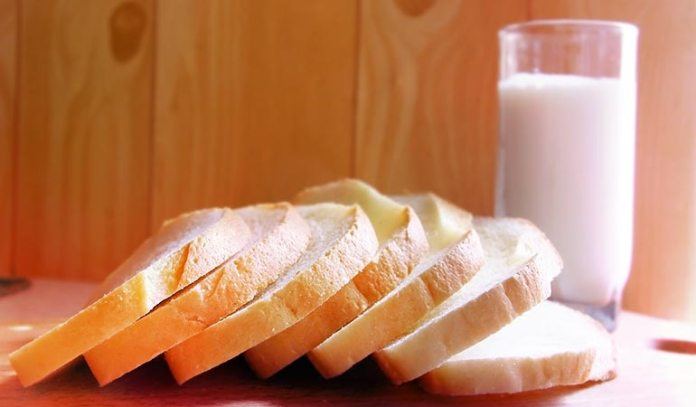(Milk and bread poultice paste can be applied on boils to treat them.