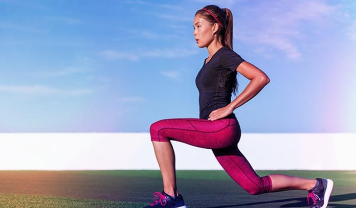 stretches your hamstrings