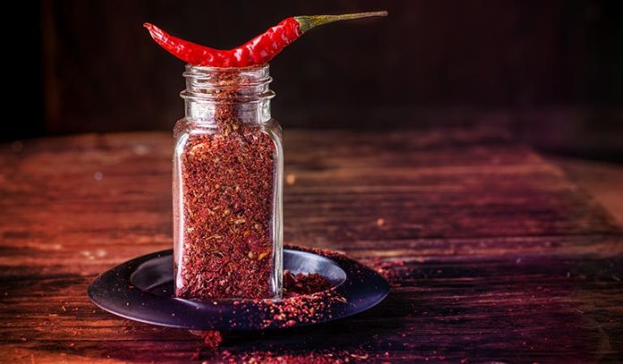 Cayenne Pepper gives warmth during colds