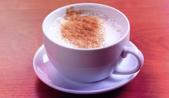 Milk should be consumed with nutmeg powder to treat boils effectively.