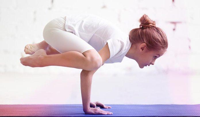 Bakasana increases strength and makes the body flexible.