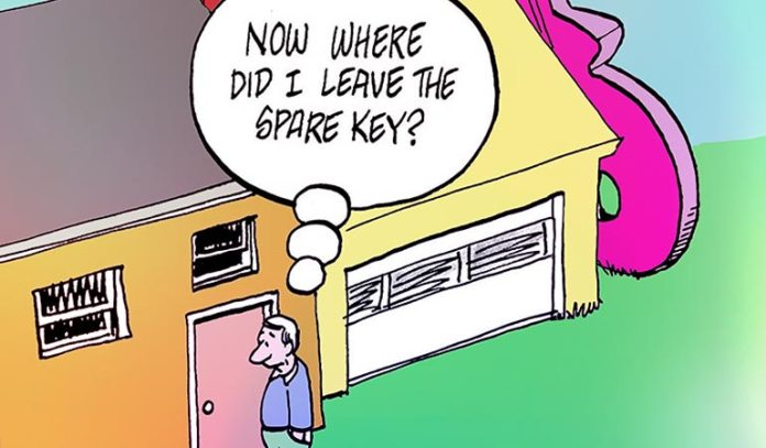 : Burglars Know All Your Key Hiding Spots