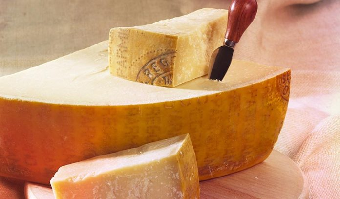 Parmesan cheese contains lesser amount of lactose