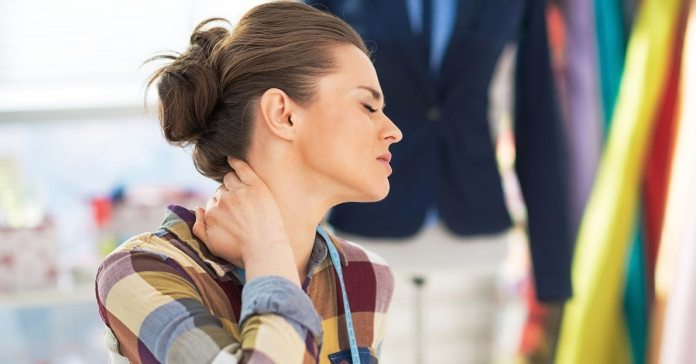 poor posture leads to neck pain