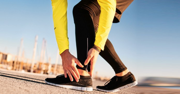 Sprained ankles can be due to excess wear and tear or a bad form or posture