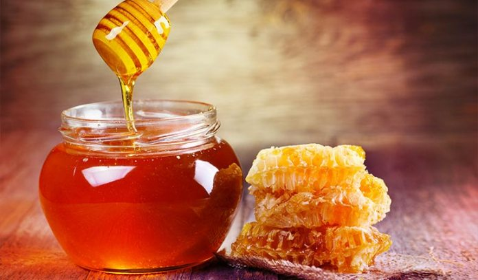 honey can soothe an irritated throat