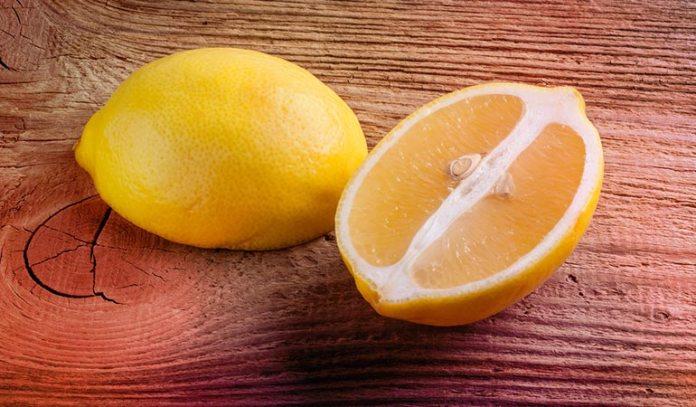 Melt Candle Wax Into Lemon Peel Cups