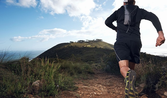 Try different trails and routes