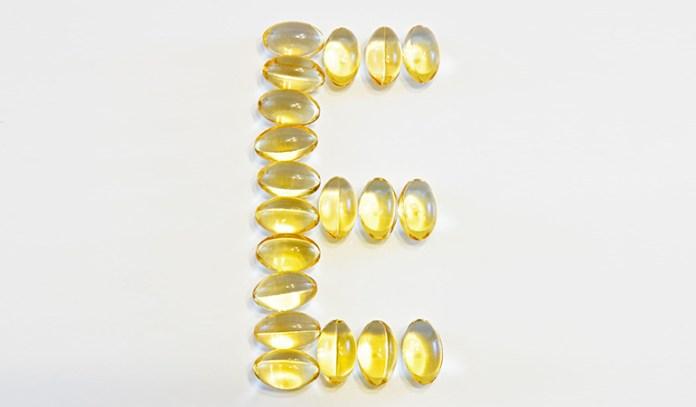 Vitamin E helps lighten the skin