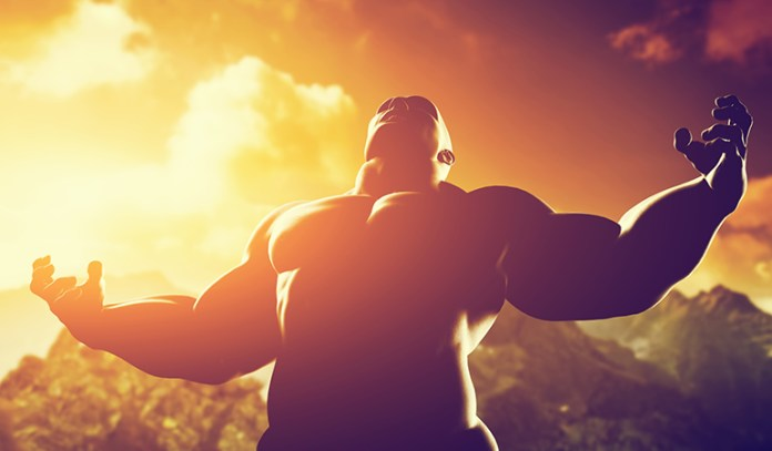 Athletic training increases power and strength