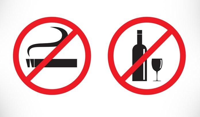 Avoid smoking.
