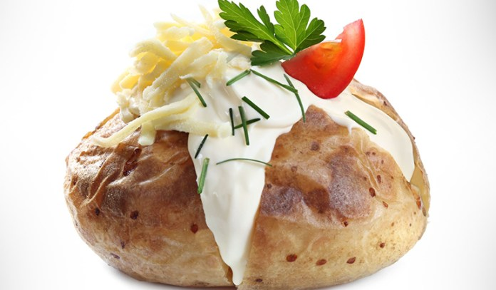 Baked potatoes are loaded with kukoamines that lower blood pressure