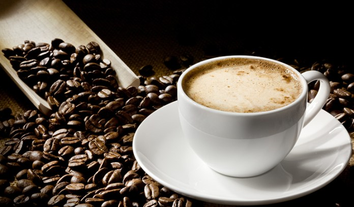 Coffee can be consumed in the morning or in the afternoon