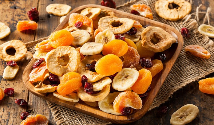 Dried fruits can increase your blood sugar levels