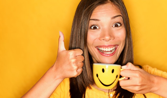 Drinking coffee before a meal can help fill your tummy up and make you eat as much as you actually need.