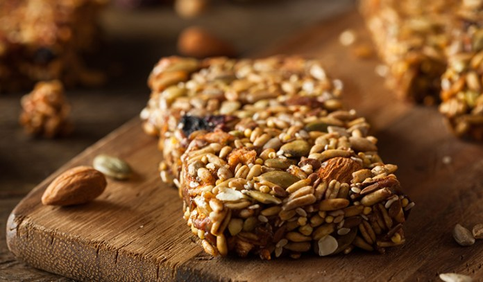 Most energy bars are a source of high sugar content
