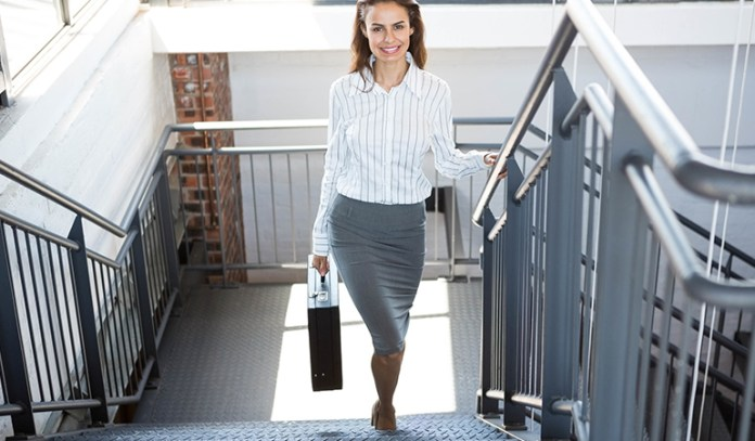 Use The Office Stairs Instead Of The Lift If You Don't Have Time To Exercise