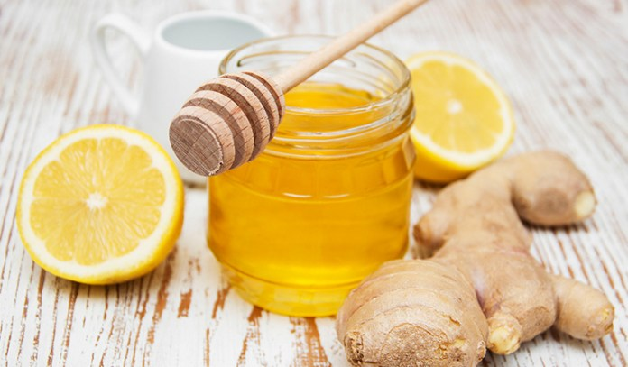 Gargling With Ginger, Lemon, And Honey In Water Eases Sore Throat Symptoms